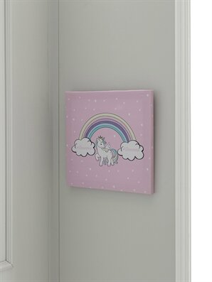 Unicorn Baskılı Tablo - LCW HOME