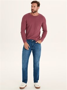İndigo 779 Regular Fit Jean Pantolon 9WQ752Z8 LC Waikiki